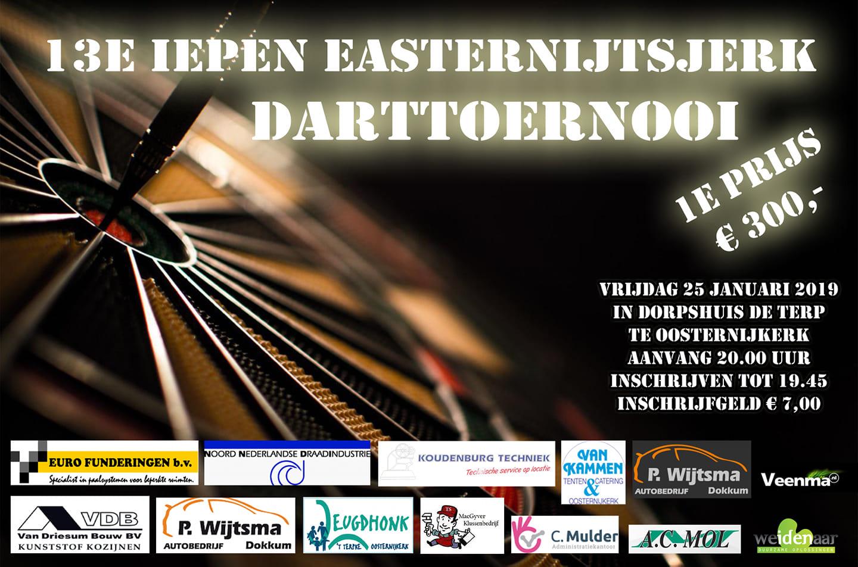 13e Open Darttoernooi @ Dorpshuis de Terp